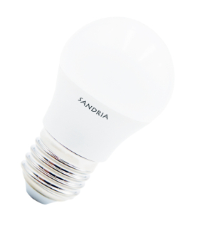 LED žiarovka Sandy LED E27 B45 S1031 7W 3000K